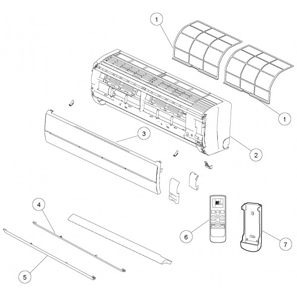 filtre climatisation reversible inverter asya12lgc atlantic